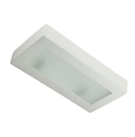 Wall Light Raw Ceramic w Frosted Glass G9 in 30cm BF-8276 Domus Lighting - Oz Lights Direct