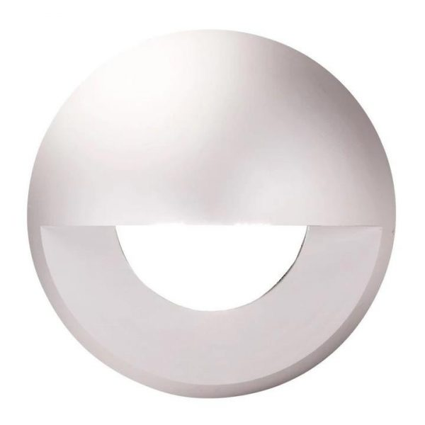 Deka Round Eyelid Cover to Suit Deka-Body - Anodised Aluminium Cover Only Domus Lighting - Oz Lights Direct