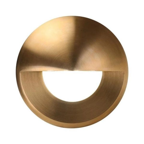 Deka Round Eyelid Cover Only to Suit Deka-Body Brass Domus Lighting - Oz Lights Direct