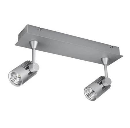 LED Spot Light Twin Bar Dimmable 20W in White or Silver 40cm Jet in 3K or 5K Domus Lighting - Oz Lights Direct