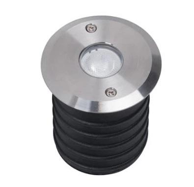 Domus Lighting Magneto 3W LED Induction Inground Light 24V 316 Stainless Steel - Wide Beam 40° - Oz Lights Direct