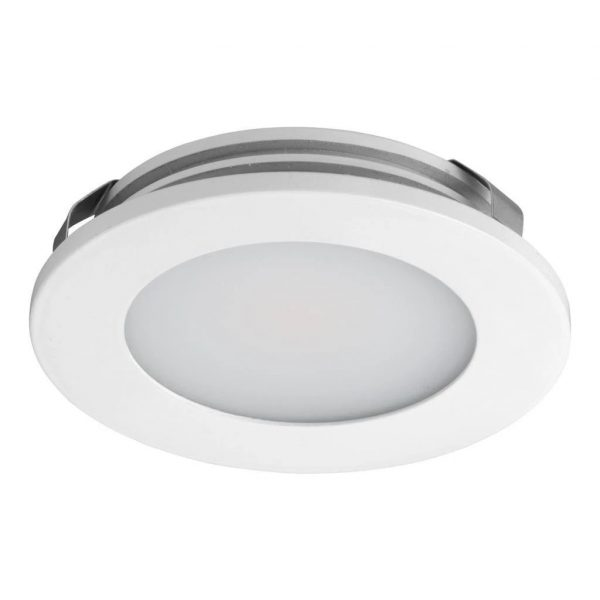 LED Cabinet Light 3.6W in Silver or White w 3000K or 5000K Astra Domus Lighting - Oz Lights Direct