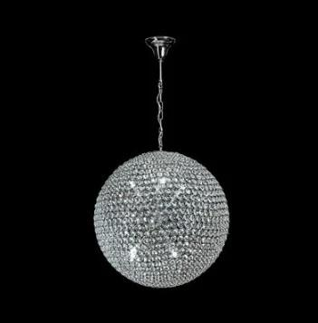 Domus Lighting Venus Small, Medium or Large LED Pendant Crystal Light G9 - Oz Lights Direct