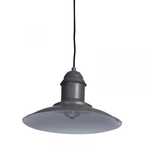 Meir Pendant Light | Cement - Oz Lights Direct