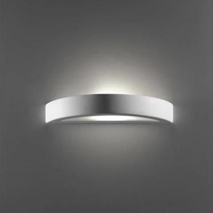 Wall Light Raw Ceramic w Frosted Glass in E27 in BF-8042 or BF-7603 Domus Lighting - Oz Lights Direct