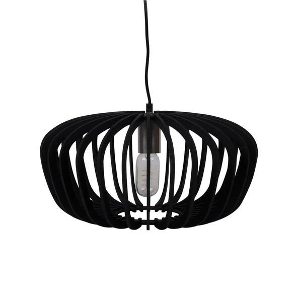ROBIN-40 40cm Timber Pendant 240V - E27 - Oz Lights Direct