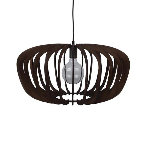 ROBIN-60 60cm Timber Pendant 240V - E27 - Oz Lights Direct