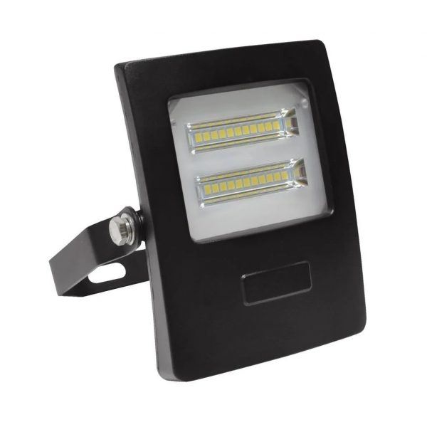 Domus Lighting BLAZE-10 LED 10W IP66 Floodlight with Black Polycarbonate Fascia - Oz Lights Direct