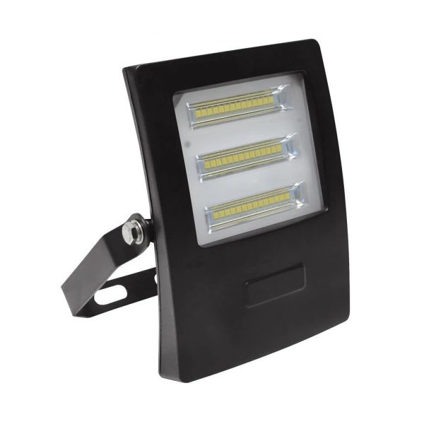 Domus Lighting BLAZE-20 LED 20W IP66 Floodlight with Black Polycarbonate Fascia - Oz Lights Direct