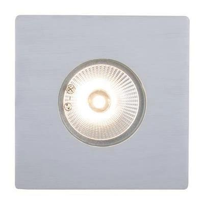Domus Lighting Deka Square Cover to Suit Deka-Body - Anodised Aluminium - Oz Lights Direct