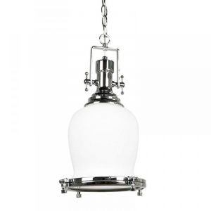 Gelos Tulip Pendant Light | Clear Chrome - Oz Lights Direct
