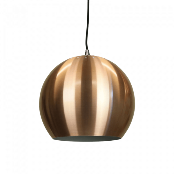 Inger Pendant Light | Classic Series in Aluminium, Black, Brown, Copper and White - Oz Lights Direct